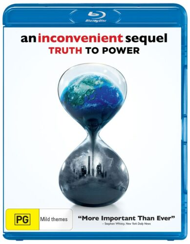An Inconvenient Sequel Truth to Power Blu-ray Region B NEW