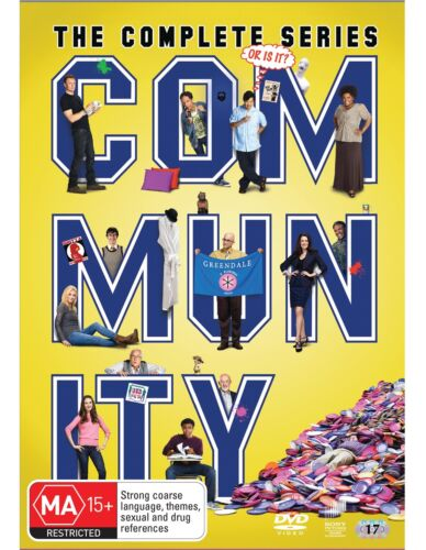 Community The Complete Series DVD Region 4 NEW
