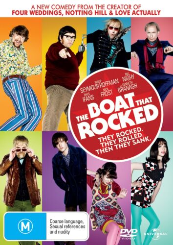 The Boat That Rocked DVD Region 4 NEW