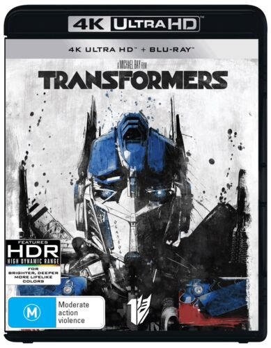 Transformers 4K Ultra HD Blu-ray UHD Region B NEW