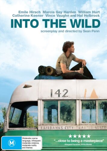 Into the Wild DVD Region 4 NEW