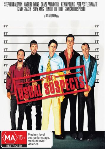 The Usual Suspects DVD Region 4 NEW