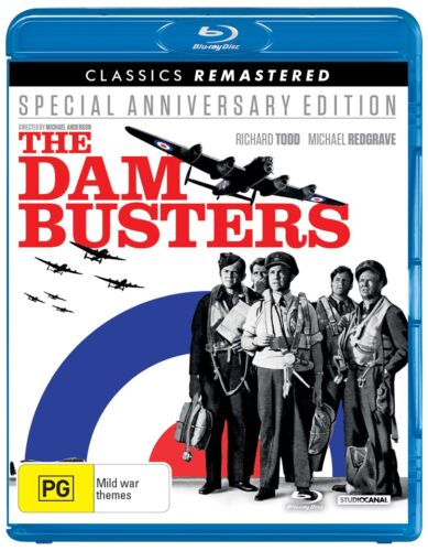 The Dam Busters Blu-ray Region B NEW