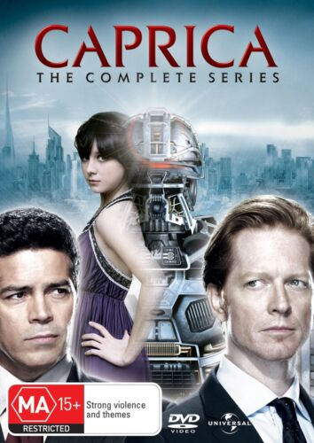 Caprica The Complete Series DVD Region 4 NEW
