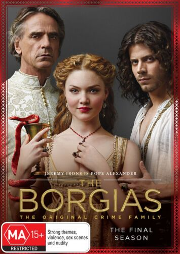 The Borgias Season 3 Series Three DVD Region 4 NEW