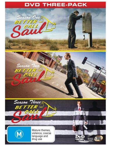 Better Call Saul Complete Seasons One Two and Three DVD Region 4 NEW