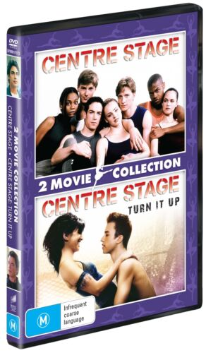 Centre Stage Centre Stage II Turn It Up DVD Region 4 NEW