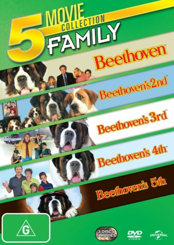 Beethoven The Pooch Pack DVD Region 4 NEW
