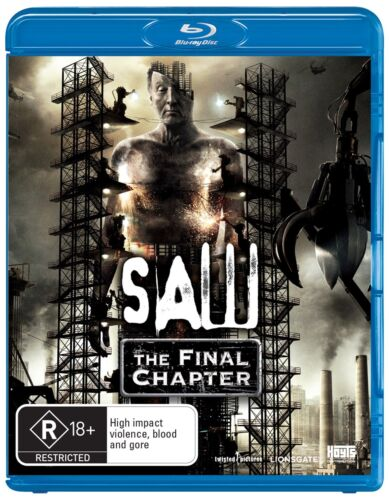 Saw The Final Chapter Blu-ray Region B NEW