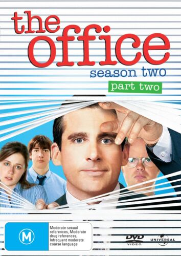 The Office An American Workplace Season 2 Series Two Part Two DVD Region 4 NEW