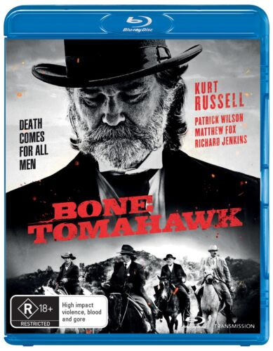 Bone Tomahawk Blu-ray Region B NEW