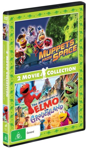 Muppets from Space / The Adventures of Elmo in Grouchland DVD Region 4 NEW