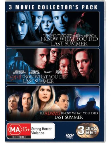 I Know What You Did Last Summer Trilogy DVD Region 4 NEW