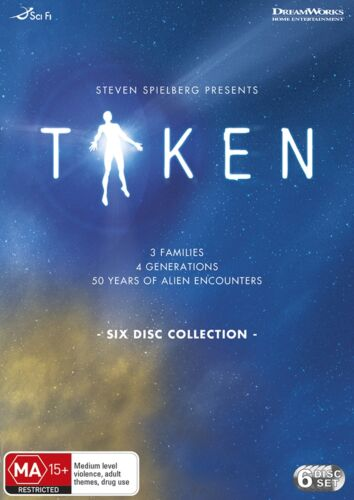 Taken Complete Series DVD Region 4 NEW