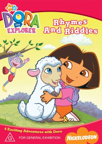 Dora the Explorer Rhymes and Riddles DVD Region 4 NEW
