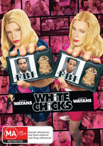 White Chicks DVD Region 4 NEW