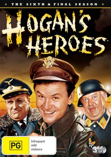 Hogans Heroes Season 6 Series Six DVD Region 4 NEW