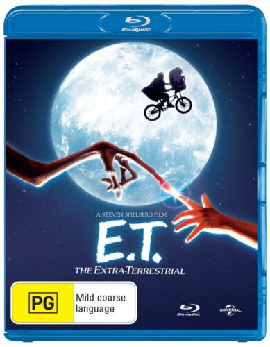 ET The Extra Terrestrial Blu-ray Region B NEW