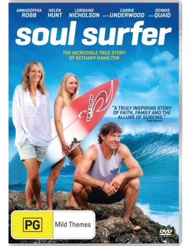 Soul Surfer DVD Region 4 NEW