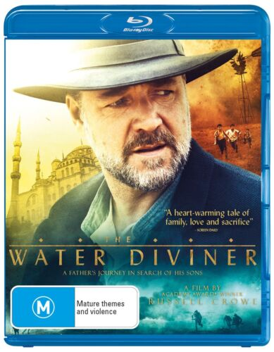 The Water Diviner Blu-ray Region B NEW