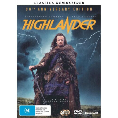 Highlander DVD Region 4 NEW
