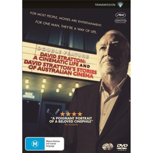 David Stratton A Cinematic Life / David Strattons Stories Of DVD Region 4 NEW