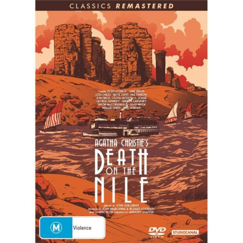 Death On the Nile DVD Region 4 NEW