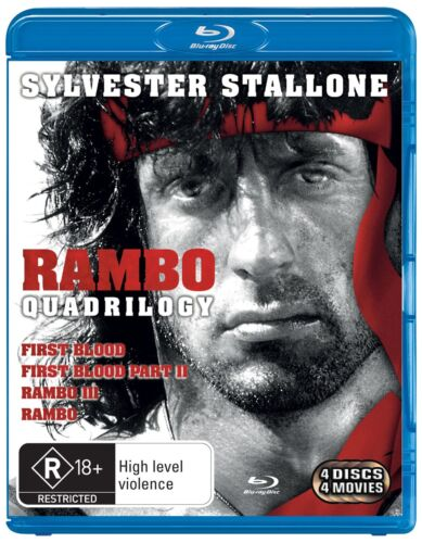 Rambo The Complete Collection Blu-ray Region B NEW
