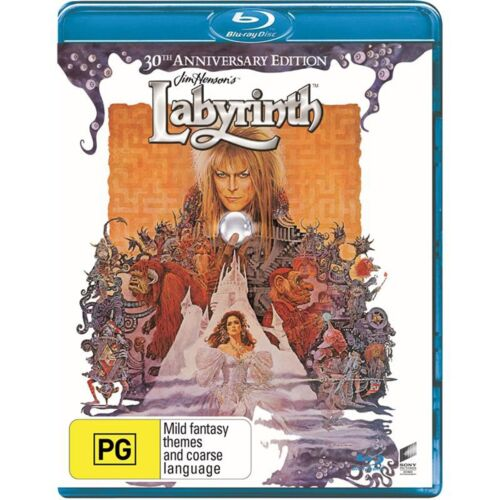 Labyrinth Blu-ray Region B NEW