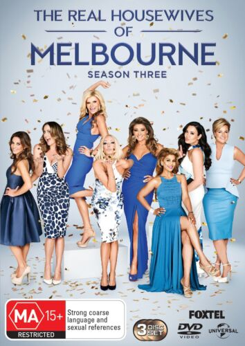 The Real Housewives of Melbourne Season 3 Series Three DVD Region 4 NEW