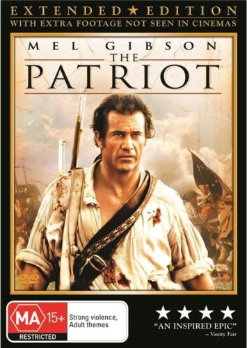 The Patriot DVD Region 4 NEW