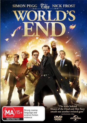 The Worlds End DVD Region 4 NEW