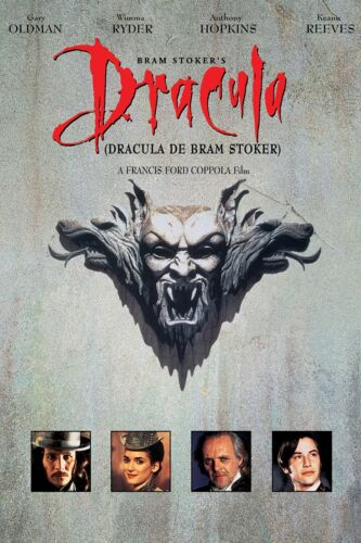 Bram Stokers Dracula DVD Region 4 NEW