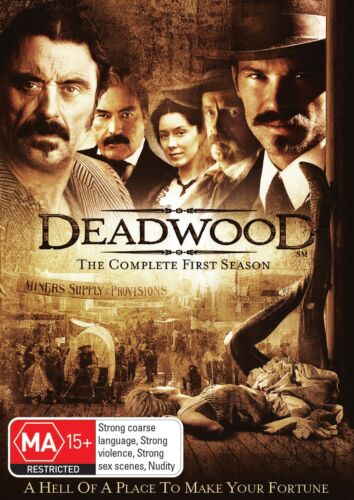 Deadwood The Complete First Season 1 Series OneDVD Region 4 NEW