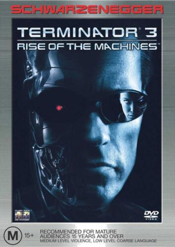 Terminator 3 Rise of the Machines DVD Region 4 NEW