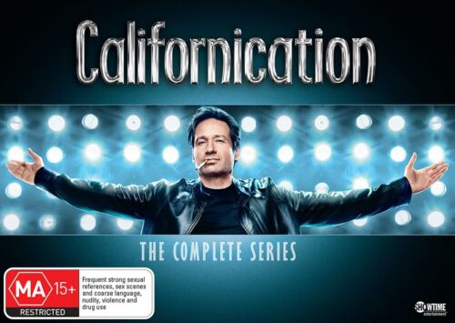 Californication The Complete Collection DVD Region 4 NEW