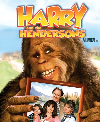 Harry and the Hendersons DVD Region 4 NEW