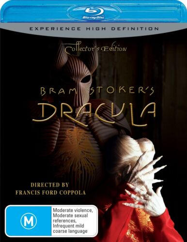 Bram Stokers Dracula Collectors Edition Blu-ray Region B NEW
