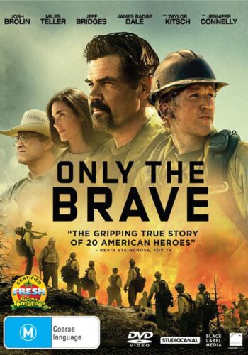 Only the Brave DVD Region 4 NEW