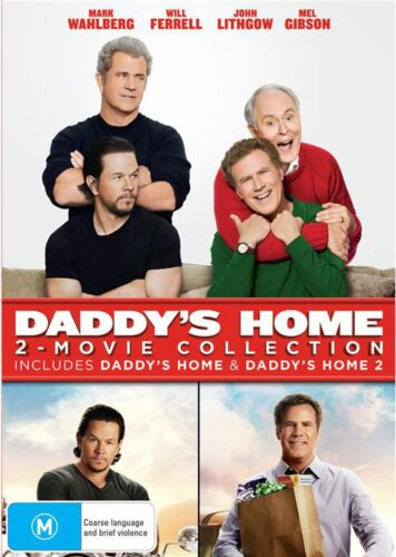Daddys Home 2 Movie Collection DVD Region 4 NEW