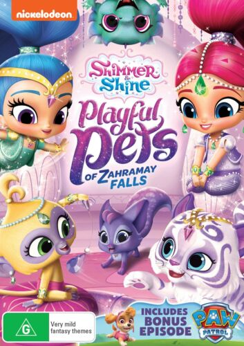 Shimmer and Shine Playful Pets of Zahramay Falls DVD Region 4 NEW