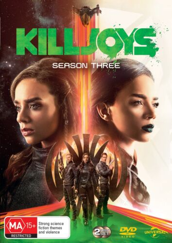 Killjoys Season 3 Series Three DVD Region 4 NEW