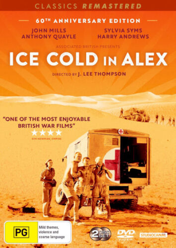 Ice Cold in Alex  - DVD - NEW Region 4, 2