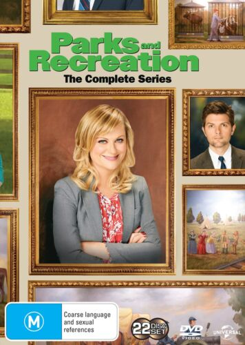 Parks and Recreation Seasons 1-7 DVD Region 4 NEW