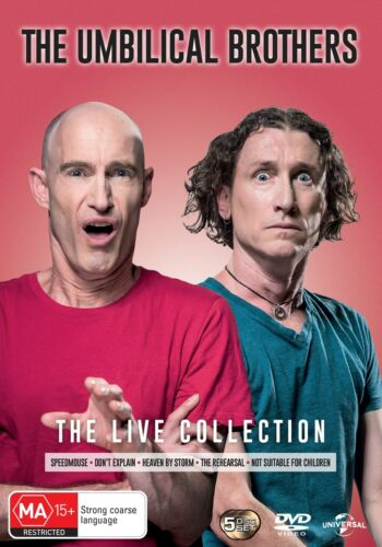 The Umbilical Brothers Live Collection DVD Region 4 NEW