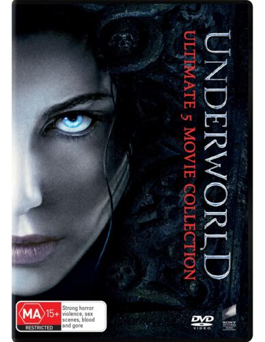 Underworld Ultimate 5 Movie Collection Box Set with Digital Download DVD NEW