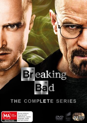 Breaking Bad The Complete Series DVD Region 4 NEW