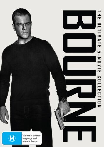 Bourne The Ultimate 5 Movie Collection Box Set DVD Region 4 NEW