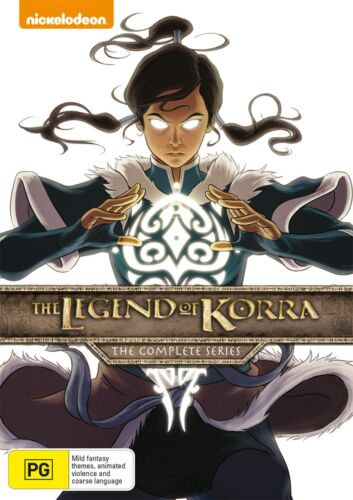 The Legend of Korra The Complete Series DVD Region 4 NEW