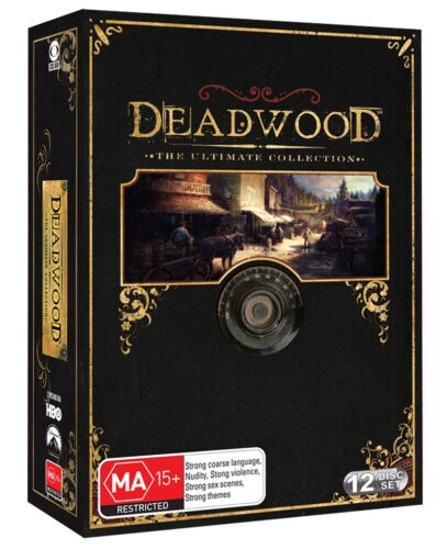 Deadwood The Ultimate Collection DVD Region 4 NEW
